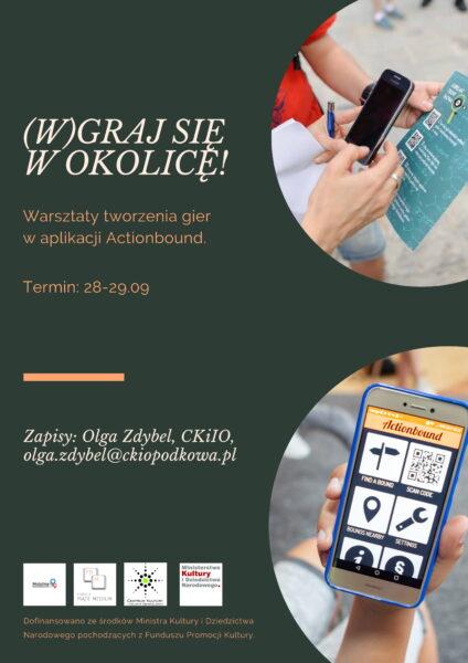 Read more about the article (W)graj się w okolicę – warsztaty tworzenia gier