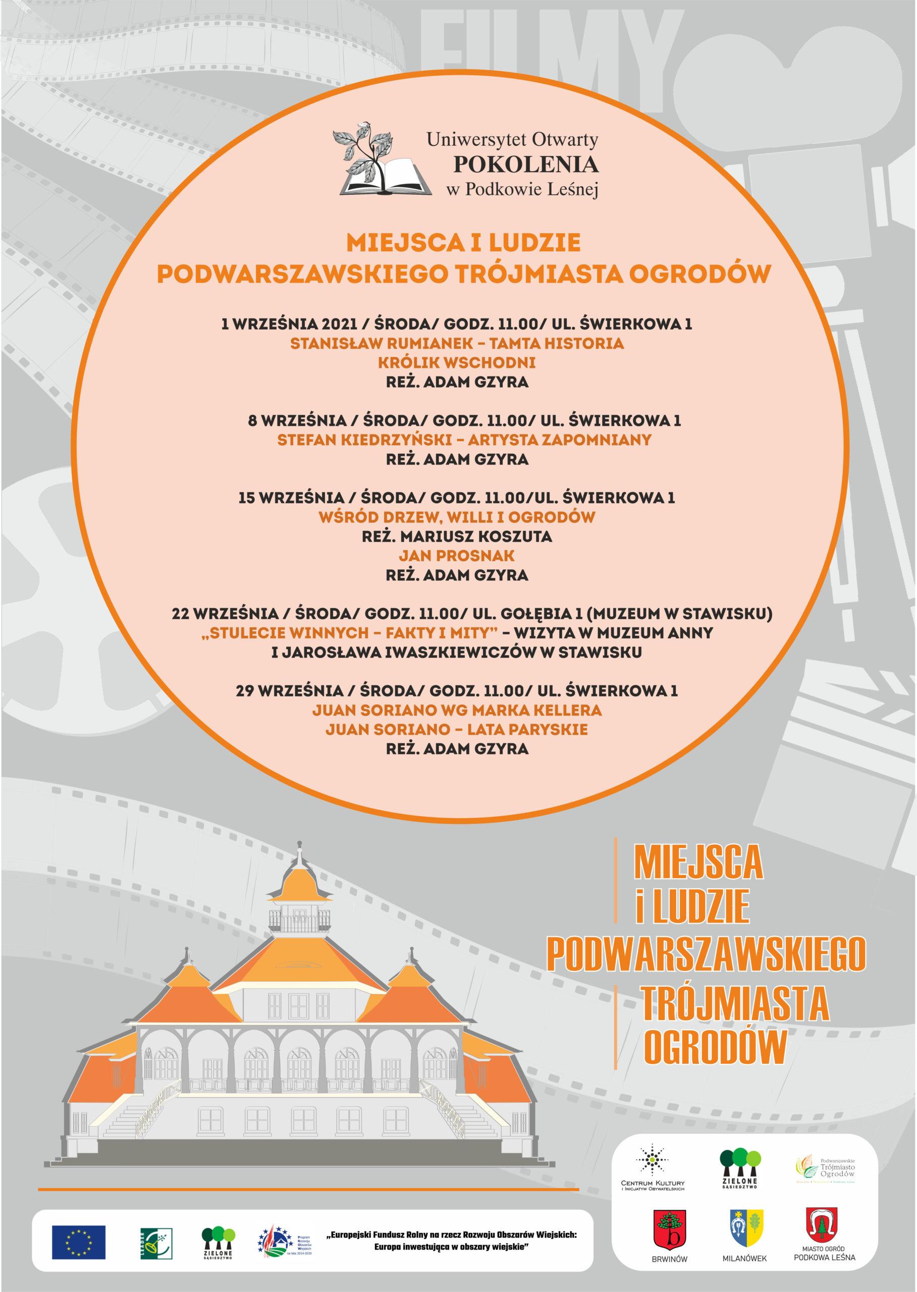 You are currently viewing Miejsca i ludzie Podwarszawskiego Trójmiasta Ogrodów