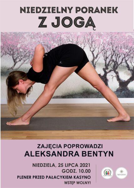 Read more about the article Niedzielny poranek z jogą