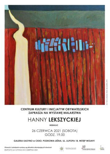 Wystawa malarstwa Hanny Lekszyckiej