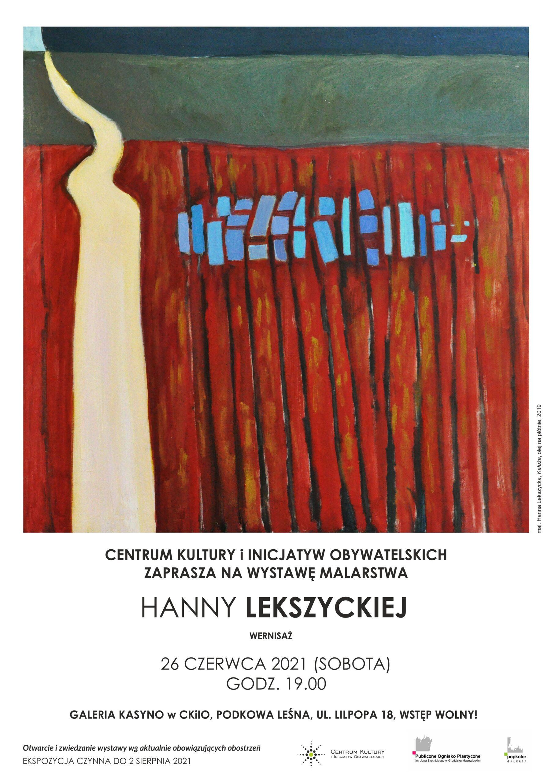 You are currently viewing Wystawa malarstwa Hanny Lekszyckiej