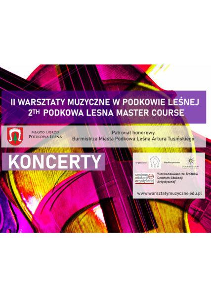 Read more about the article Koncert Inauguracyjny II Warsztatów Muzycznych