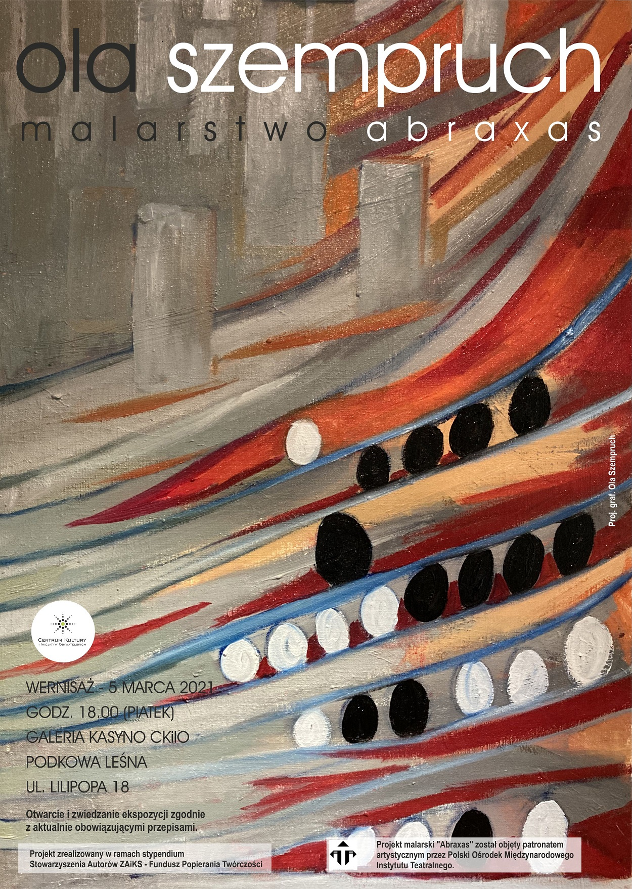 "You are currently viewing ""ABRAXAS"" – wystawa malarstwa Aleksandry Szempruch"