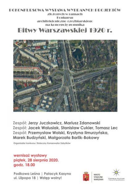 Read more about the article Pokonkursowa wystawa prac na koncepcję pomnika Bitwy Warszawskiej 1920 r.