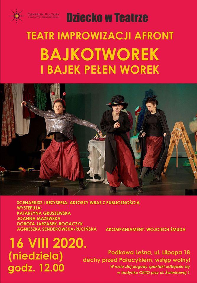 You are currently viewing DZIECKO W TEATRZE: Bajkotworek i bajek pełen worek