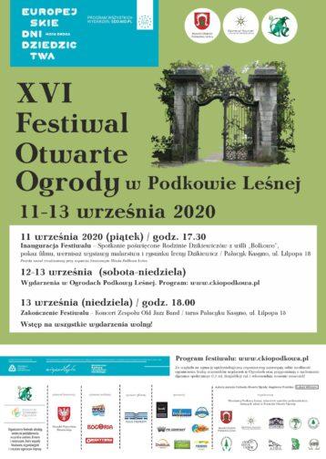 Festiwal Otwarte Ogrody 2020