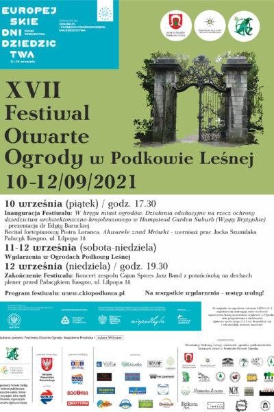 Festiwal Otwarte Ogrody 2021