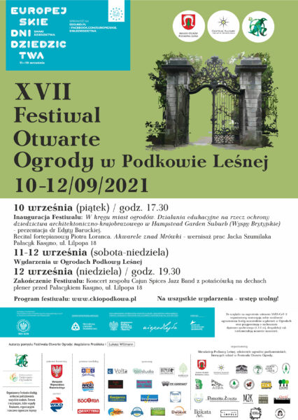 Read more about the article Festiwal Otwarte Ogrody 2021