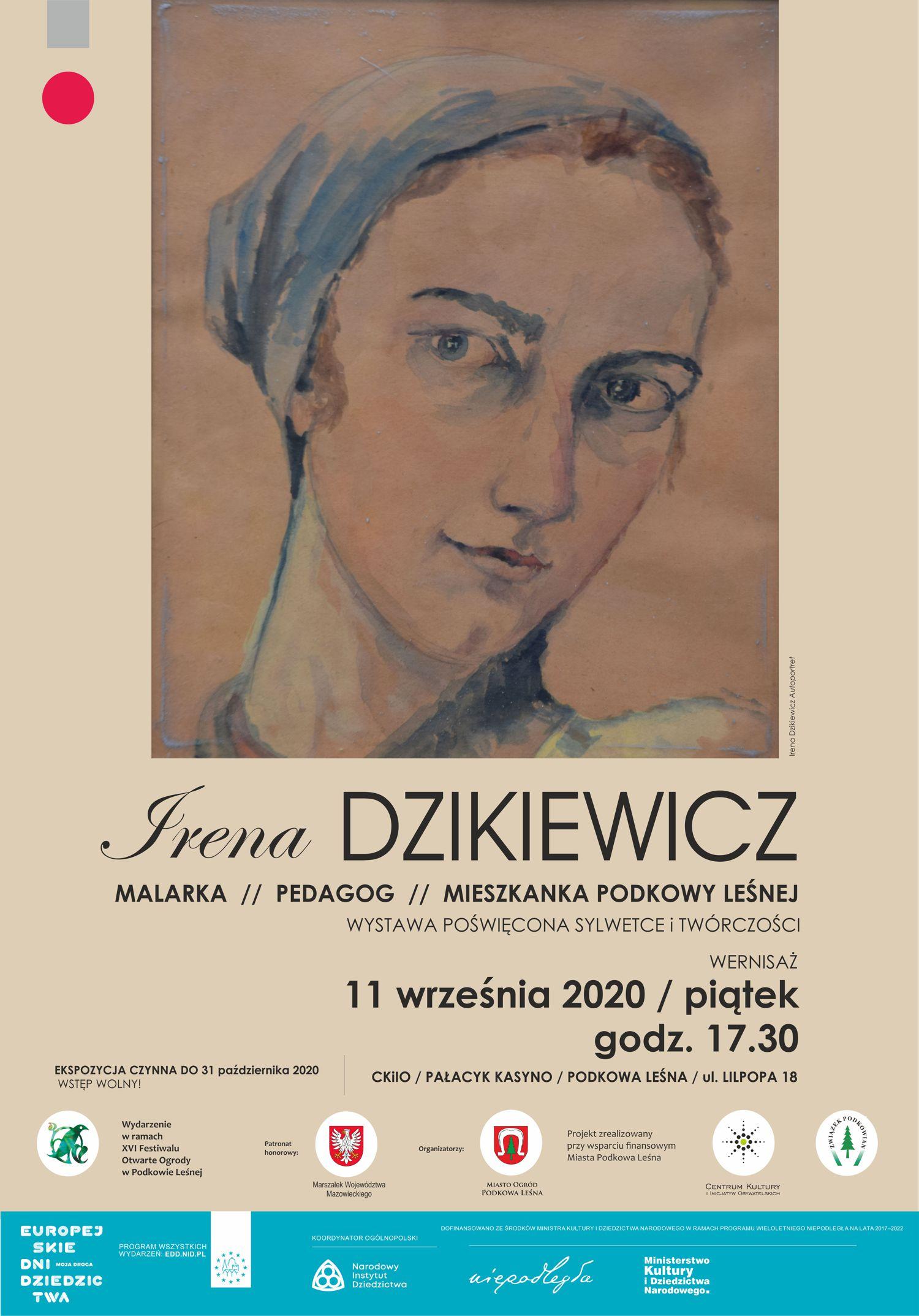 You are currently viewing Wystawa poświęcona sylwetce i twórczości Ireny Dzikiewicz