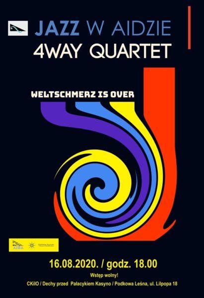 Read more about the article JAZZ W AIDZIE: 4Way Quartet