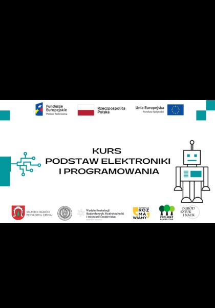 Read more about the article Bezpłatny kurs podstaw elektroniki i programowania