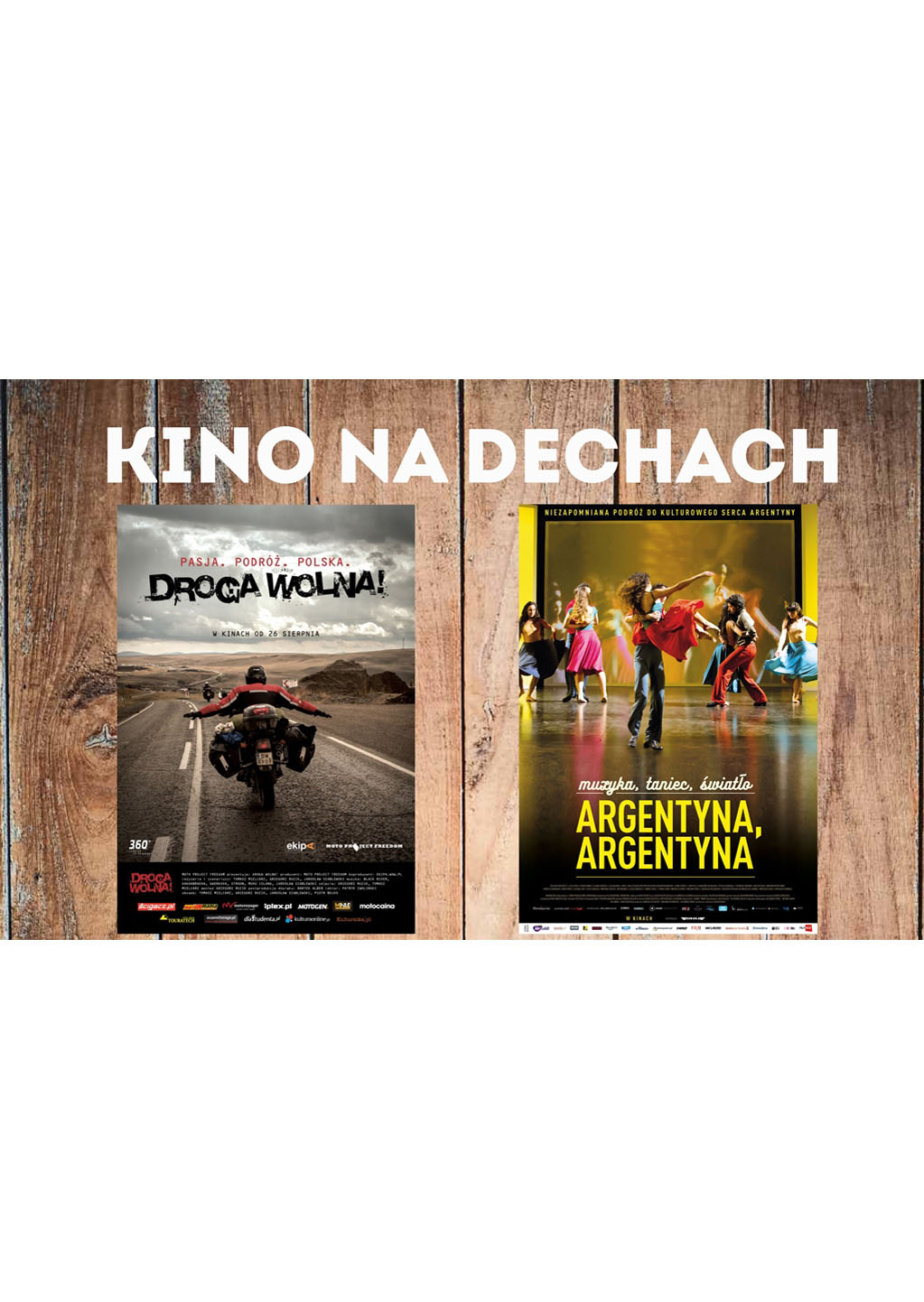 """You are currently viewing KINO NA DECHACH: """"Droga wolna""""i """"Argentyna, Argentyna"""""""