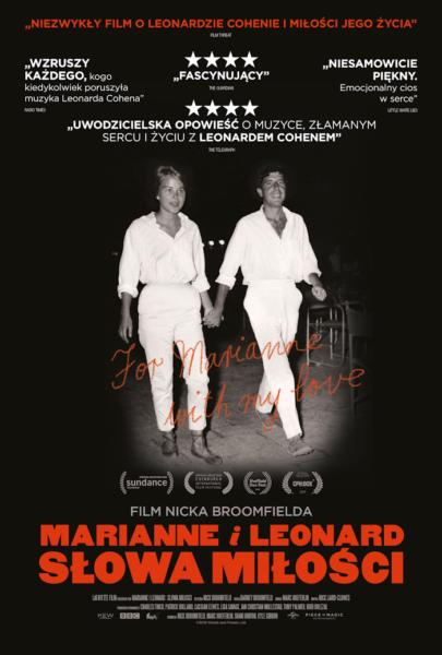 Read more about the article KINO NA DECHACH: Marianne i Leonard: Słowa miłości