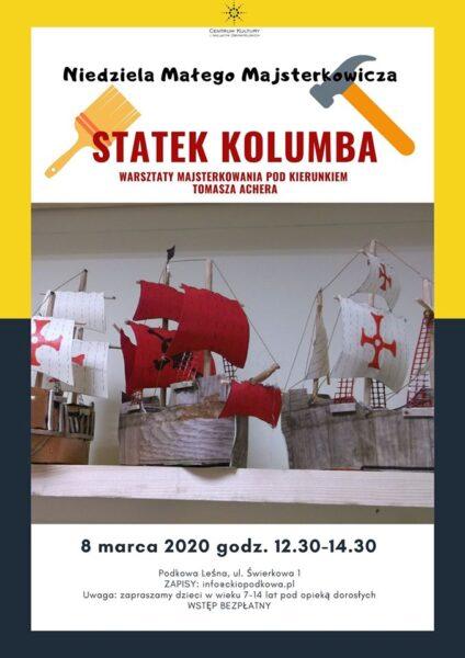 Read more about the article NIEDZIELA MAŁEGO MAJSTERKOWICZA: budujemy statek Kolumba