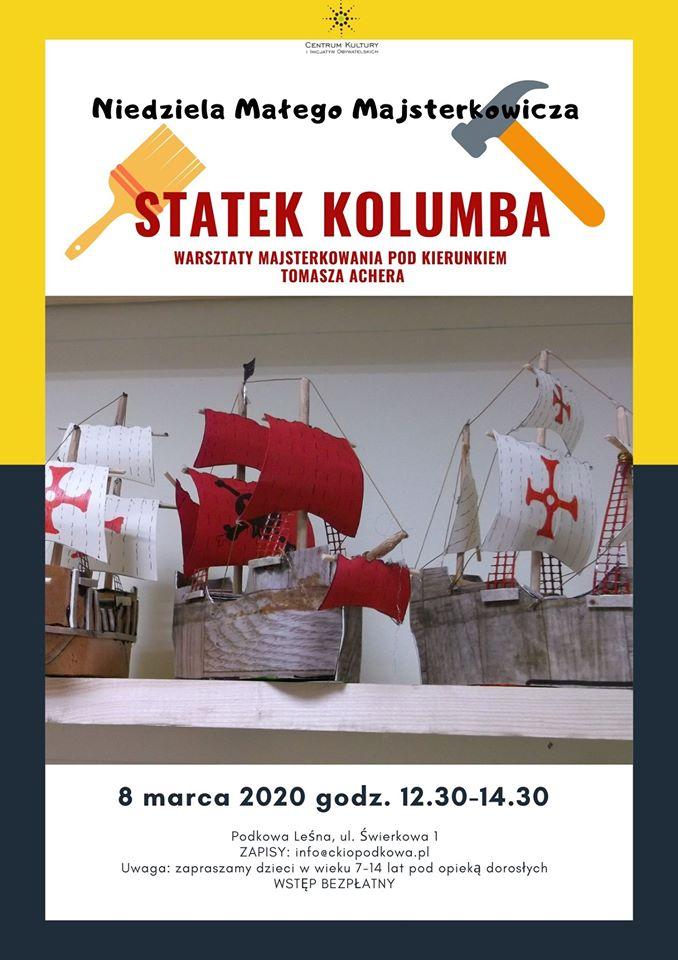 You are currently viewing NIEDZIELA MAŁEGO MAJSTERKOWICZA: budujemy statek Kolumba