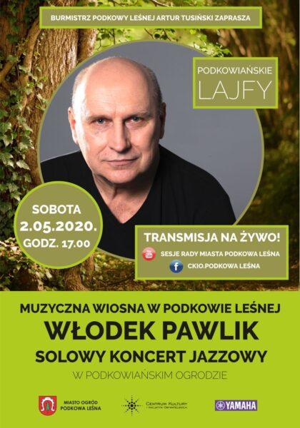 Read more about the article Podkowiańskie Lajfy – koncert Włodka Pawlika