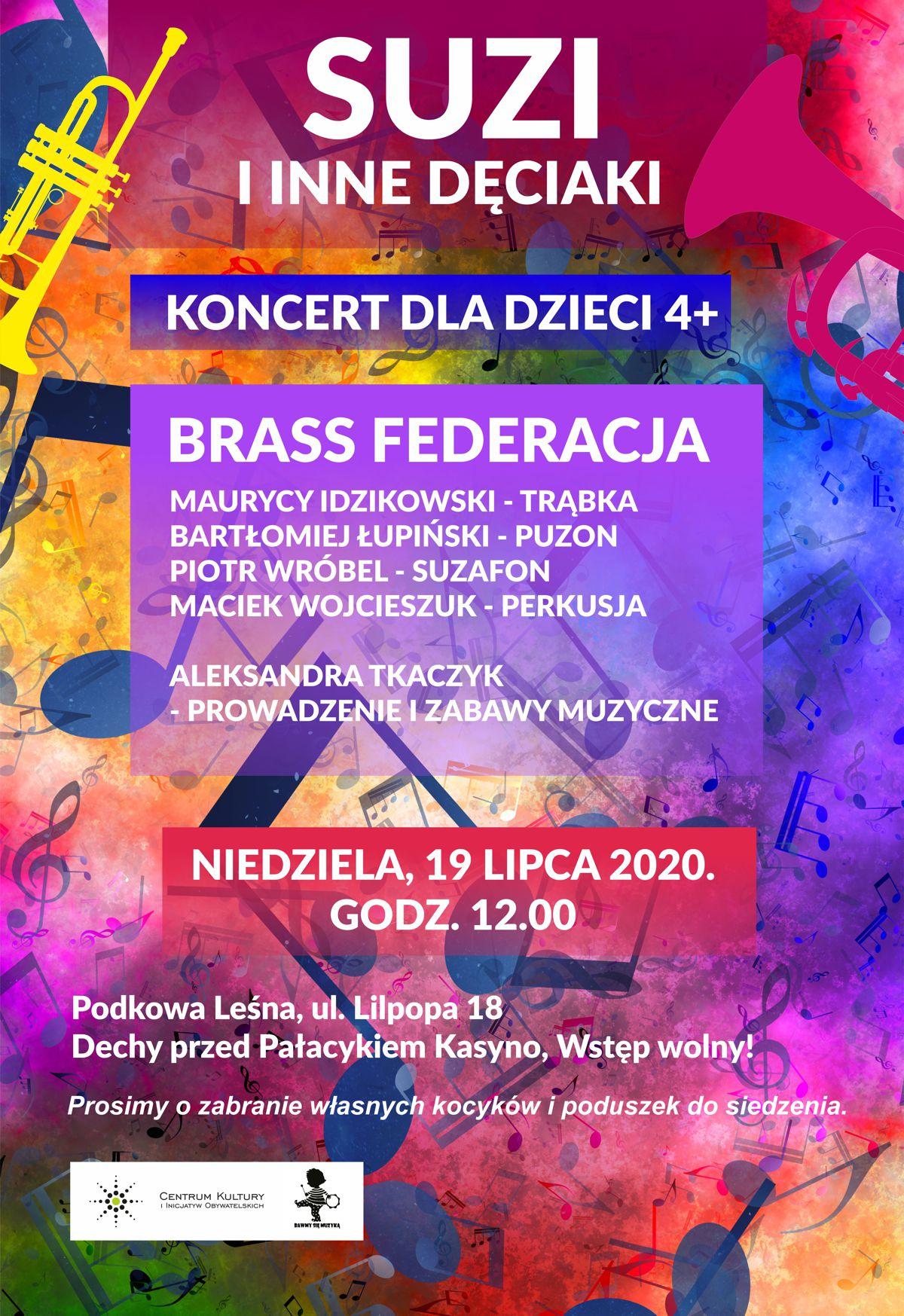 You are currently viewing Suzi i inne dęciaki – koncert rodzinny