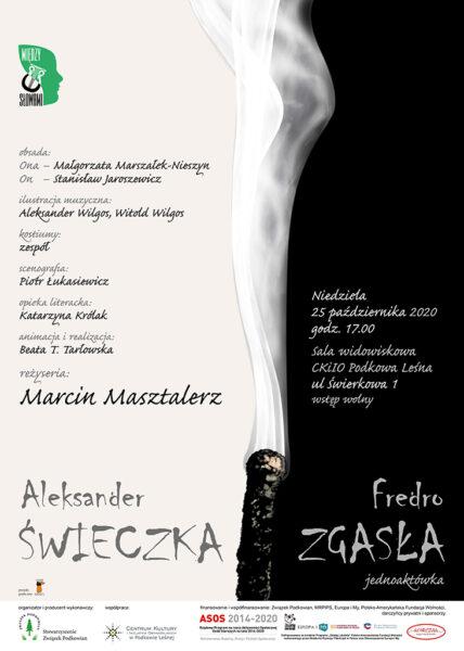 "Read more about the article ""Świeczka zgasła"" – spektakl online"