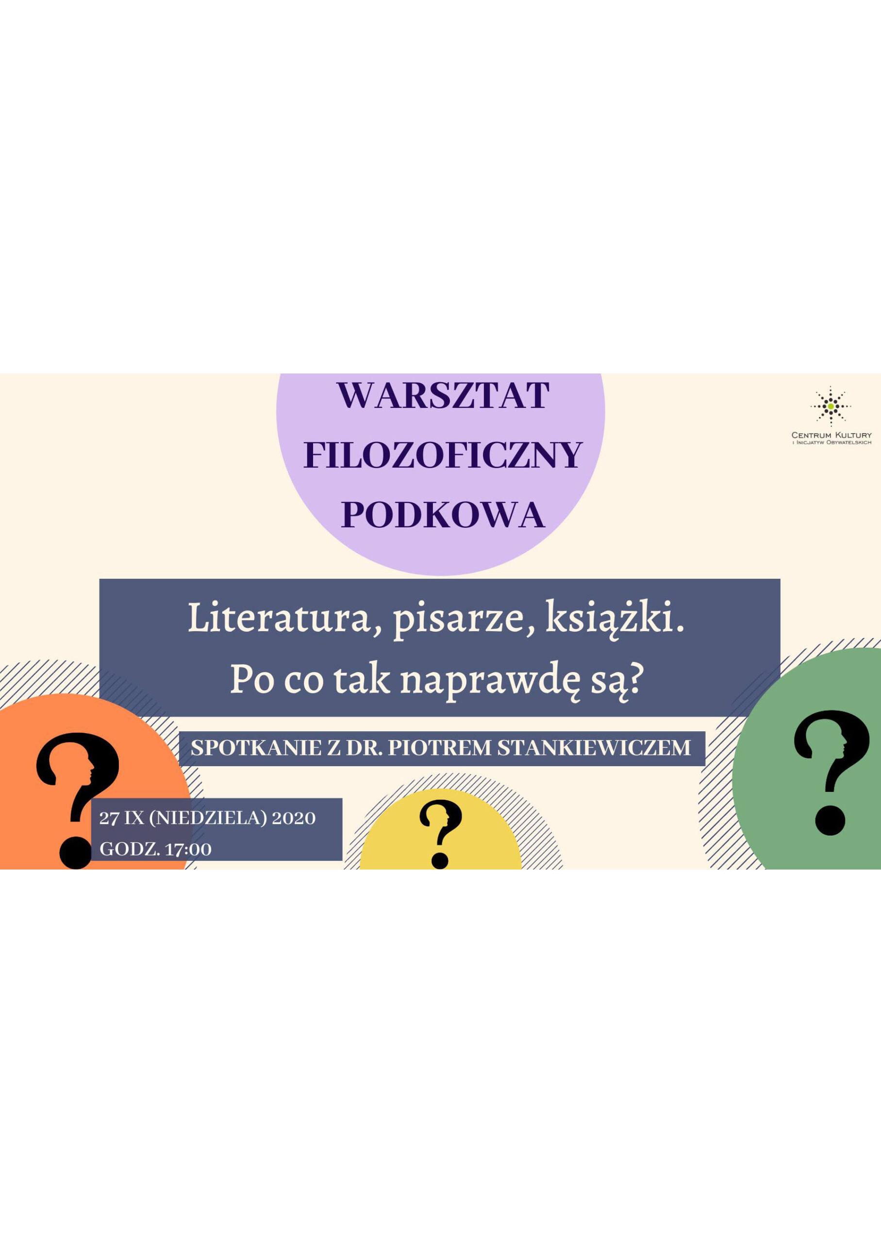 You are currently viewing WFP: Literatura, pisarze, książki…