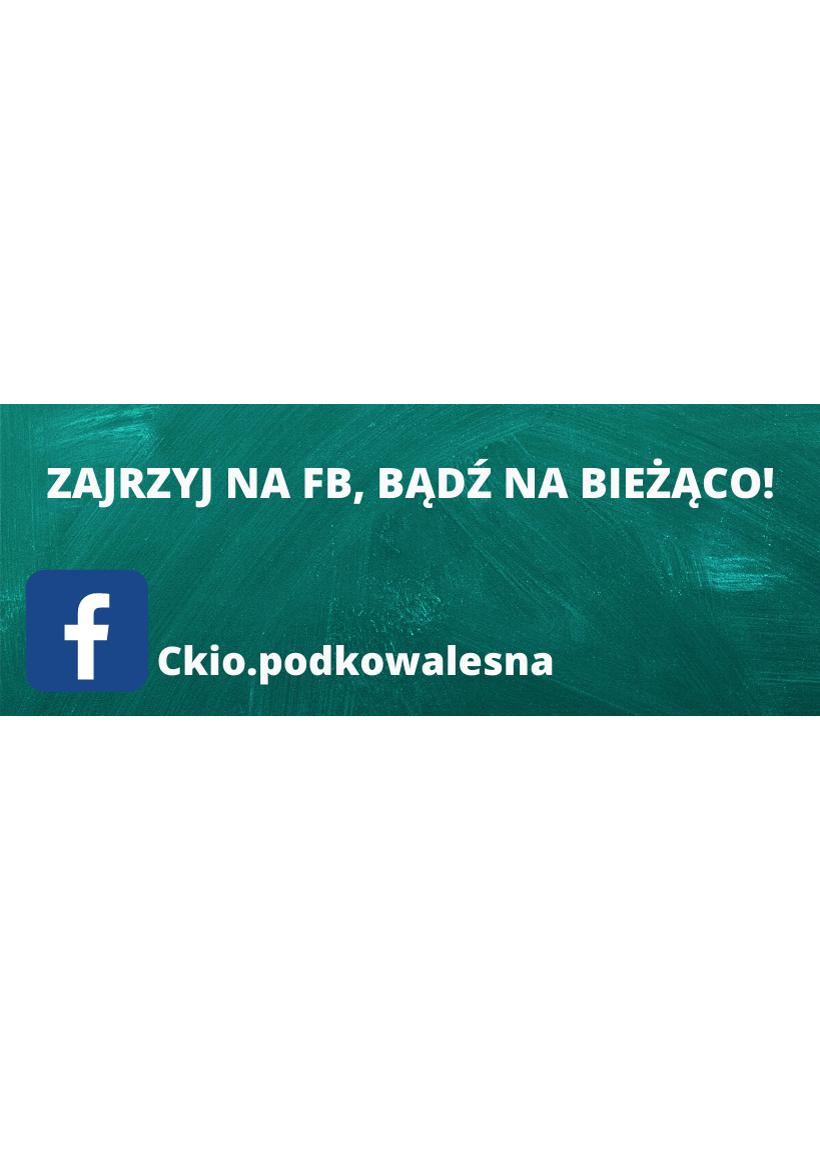 You are currently viewing Zajrzyj na nasz profil na Facebooku