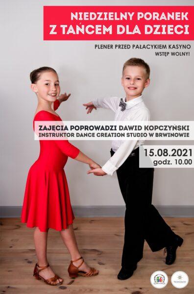 Read more about the article Niedzielny Poranek z tańcem dla dzieci