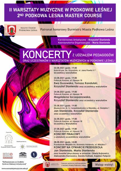 Read more about the article II Warsztaty Muzyczne w Podkowie Leśnej