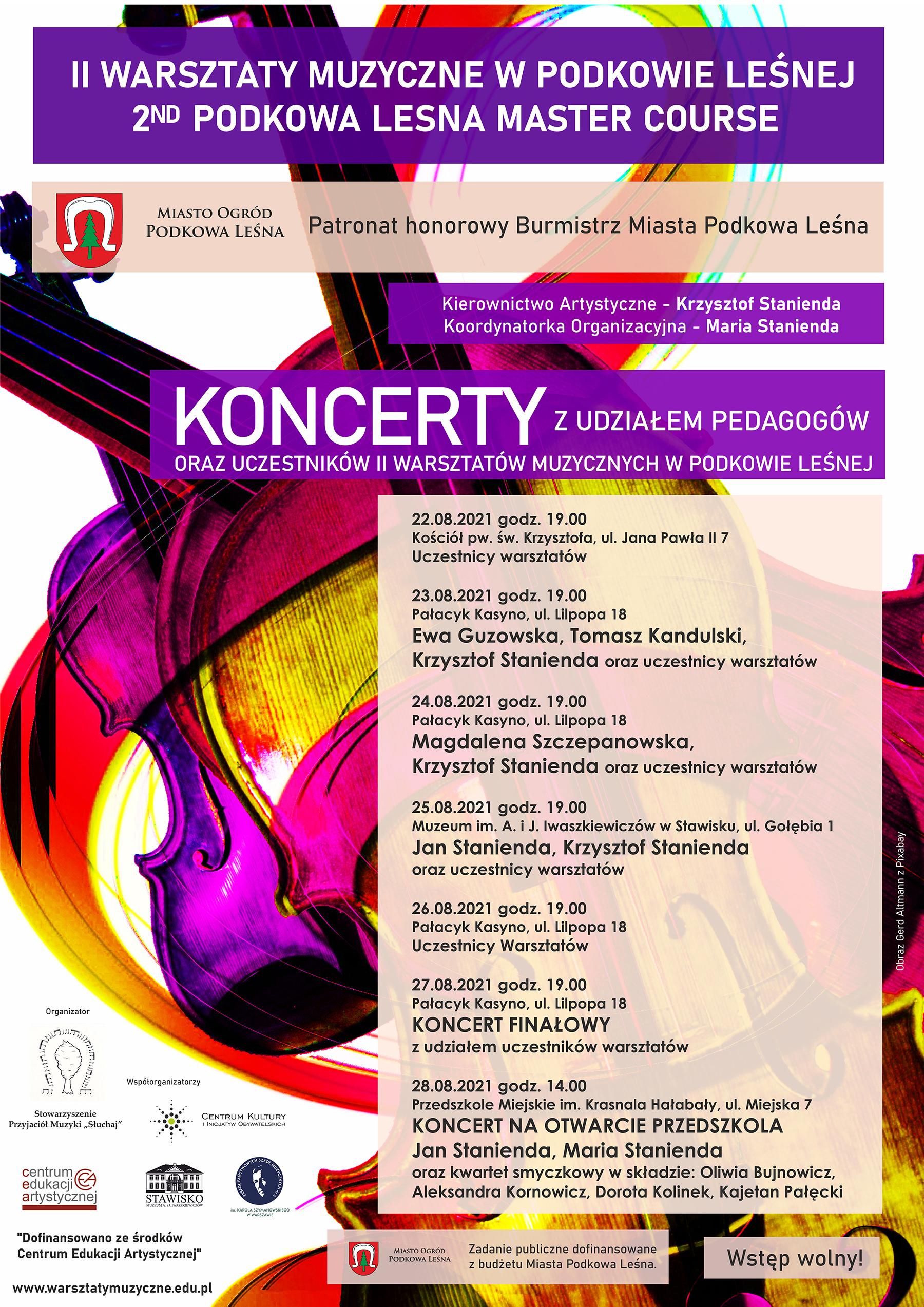 You are currently viewing II Warsztaty Muzyczne w Podkowie Leśnej