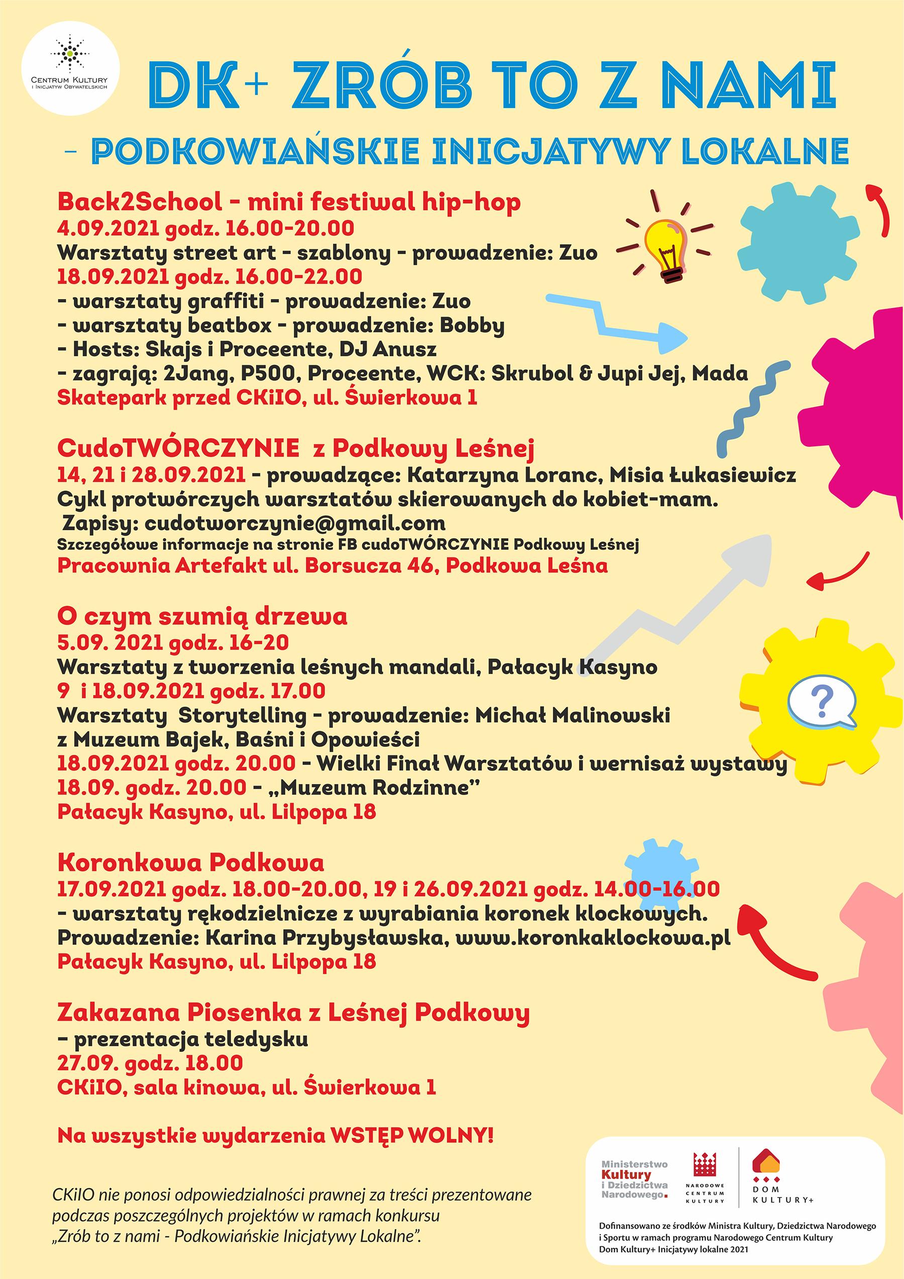 You are currently viewing DK+ ZRÓB TO Z NAMI – Podkowiańskie inicjatywy lokalne