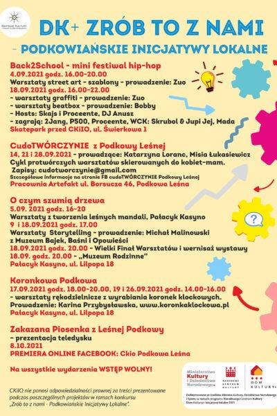 DK+ ZRÓB TO Z NAMI – Podkowiańskie inicjatywy lokalne