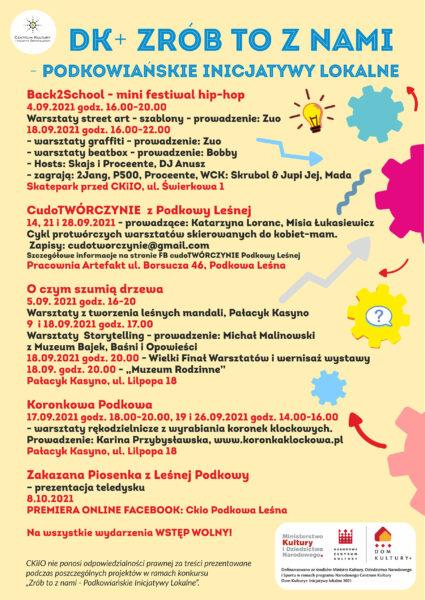 Read more about the article DK+ ZRÓB TO Z NAMI – Podkowiańskie inicjatywy lokalne