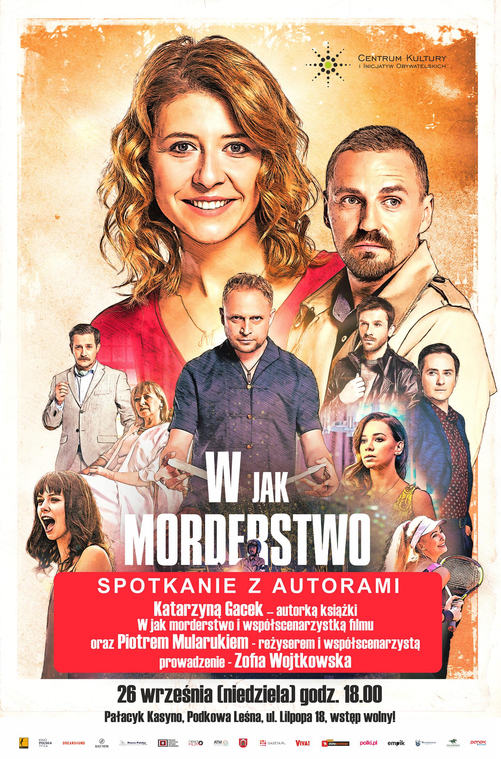 """You are currently viewing """"W jak Morderstwo"""" – spotkanie autorskie"""