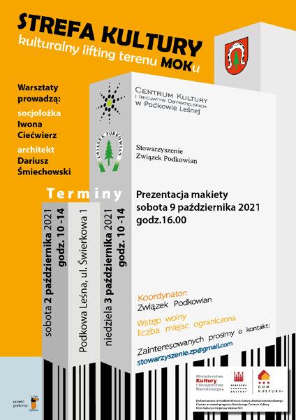 "Read more about the article STREFA KULTURY –  warsztaty kulturalnego ""liftingu"""