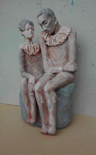 """Read more about the article """"Trzeci wymiar Mistrzów"""" –  wystawy rzeźby Maryny Szöllősi"""
